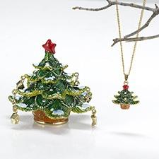 Christmas Tree Treasure Box