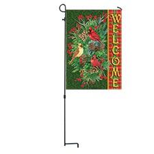 Tartan Cardinals Flag