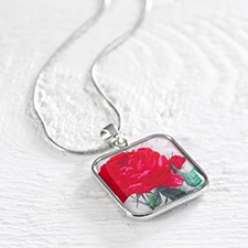 Birthday Flower Necklace - June