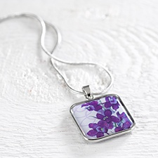 Birthday Flower Necklace - July