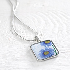 Birthday Flower Necklace - September