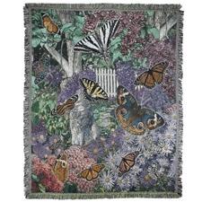 Butterfly Garden Throw