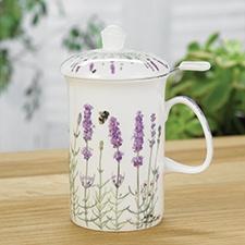 Lavender Fields Tea Mug with Infuser