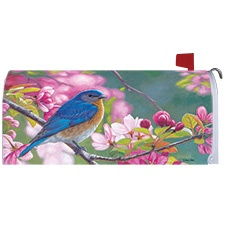 Bluebird Collection Mailbox Cover