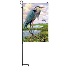 Blue Heron Branch Flag