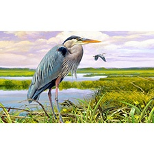 Blue Heron Branch Mat