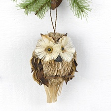 Brown Owl Hanging Décor