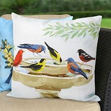 Songbird Haven Pillow