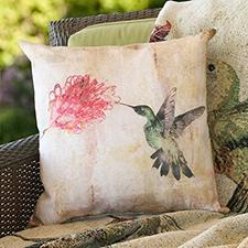Hummingbird Sensation Pillow