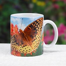 Fritillary Butterfly Mug