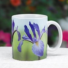 Blue Flag Iris Mug