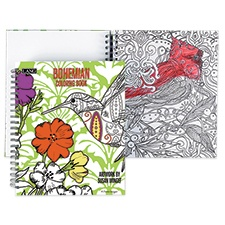 Bohemian Coloring Book