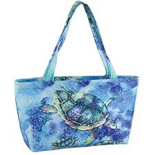 Watercolor Sea Turtle Tote Bag