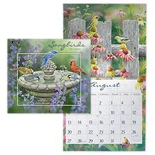 Songbirds 2017 Wall Calendar
