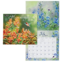 Hummingbirds 2017 Wall Calendar