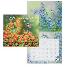 Hummingbirds 2017 Wall Calendar