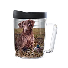 Chocolate Lab Travel Mug
