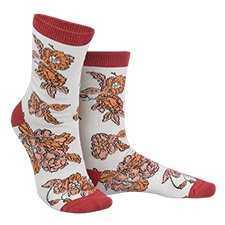 Vintage Bloom Socks