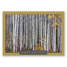 Trees for Wildlife Card - Aspen