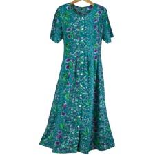 Purple Wildflowers Dress