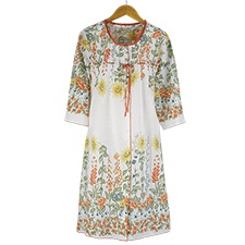Floral Blossoms Robe