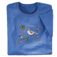 Tufted Titmouse Tee