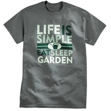 Life is Simple - Garden Tee