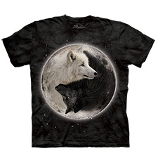 Black and White Wolves Tee