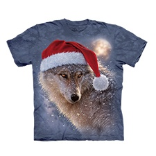 Holiday Wolf Tee
