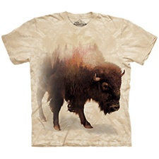 Bison Forest Tee