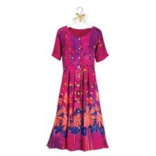 Summer Garden Floral Dress