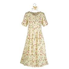 Sunshine and Roses Floral Dress