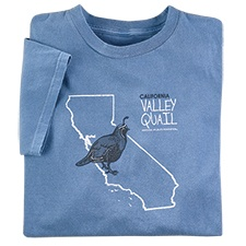 California Valley Quail Tee