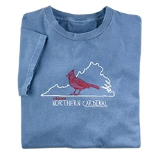 Virginia Northern Cardinal Tee