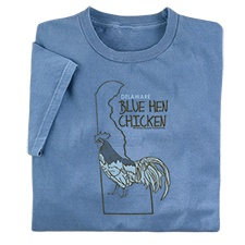 Delaware Blue Hen Chicken Tee