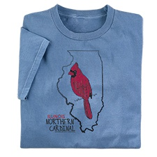 Illinois Northern Cardinal Tee