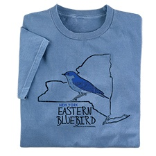 New York Eastern Bluebird Tee
