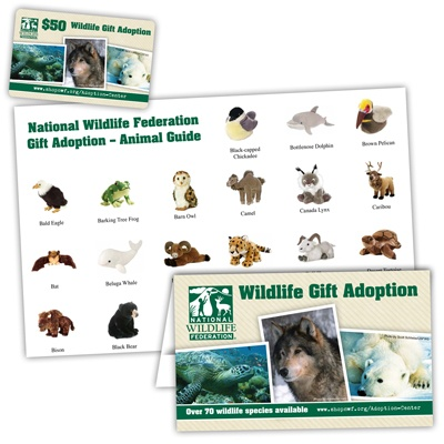 Wildlife Adoption Gift Card