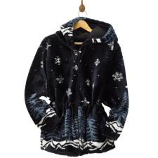 Twilight Hooded Plush Jacket