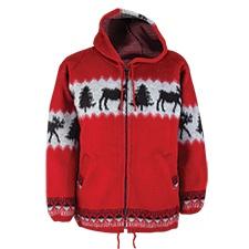 Running Moose Hooded Jacket
