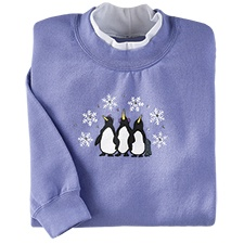 Penguin Trio Pullover