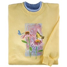 Coneflower Friends Pullover