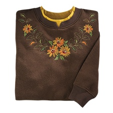 Sunflowers Pullover