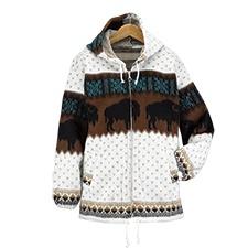 Bison Hooded Jacket