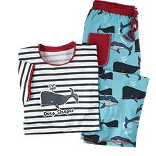 Deep Sleeper Whale Pajamas