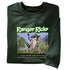Advice from Ranger Rick Youth Sweatshirt