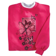 Butterfly Fascination Pullover