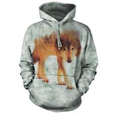 Forest Wolf Sweatshirt