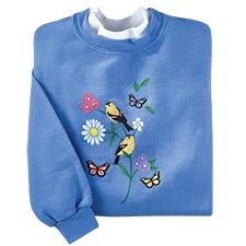 Spring Sampler Pullover