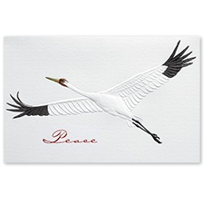 Whooping Crane Card